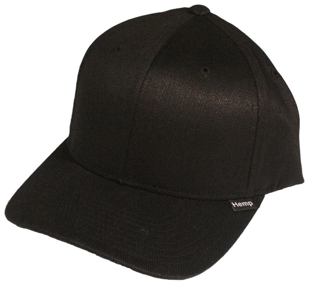Black Hemp Baseball Hat Cap - Hemp Trading Post eeb6b4cb8f3